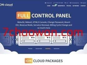 ioncloud:8折优惠,圣何塞cn2云服务器,带Windows中英文版,$8/月起-2g内存/50gSSD/2T流量
