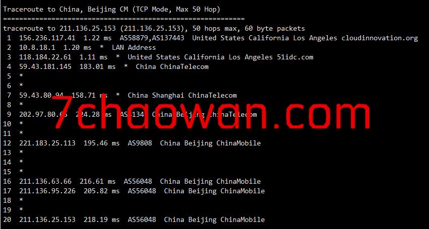 vpsyc:6折优惠,美国cn2 gia VPS,200Mbps带宽,原生IP,低至41元/月;附上晚高峰上测评数据