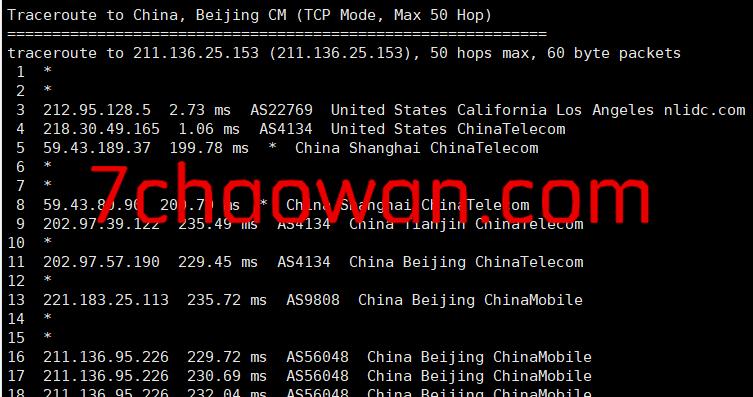vpszi:晚高峰22:19第4次测试cn2 gia系列VPS,可以跑满带宽,资源充裕!