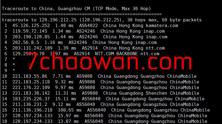 kamatera:简单测评1Gbps带宽的香港VPS,低至$4/月,给1T流量
