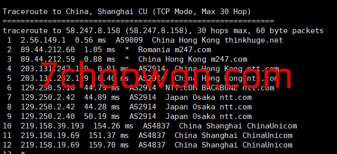 onevps香港VPS简单测评:带宽大且足,1Gbps带宽不限流量,电信和联通绕道,移动直连