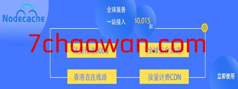 Nodecache CDN初体验,注册送1TB流量,有香港CDN节点